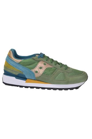 SAUCONY 2108/725GREEN/TEAL/YELLOW