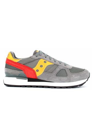 SAUCONY 2108/726GREY/RED/YELLOW