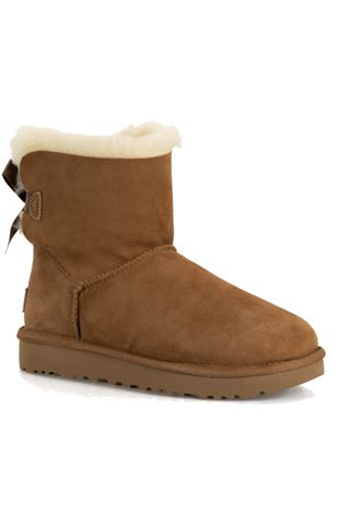 UGG MINI BAILEY BOW IICHESTNUT