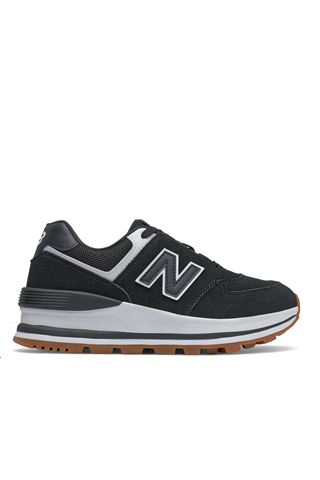 new+balance WL574CAFSUEDE BLACK
